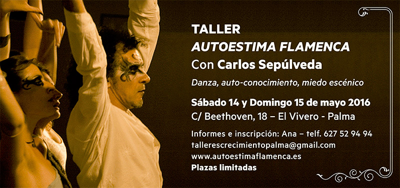 Taller Autoestima Flamenca en Palma
