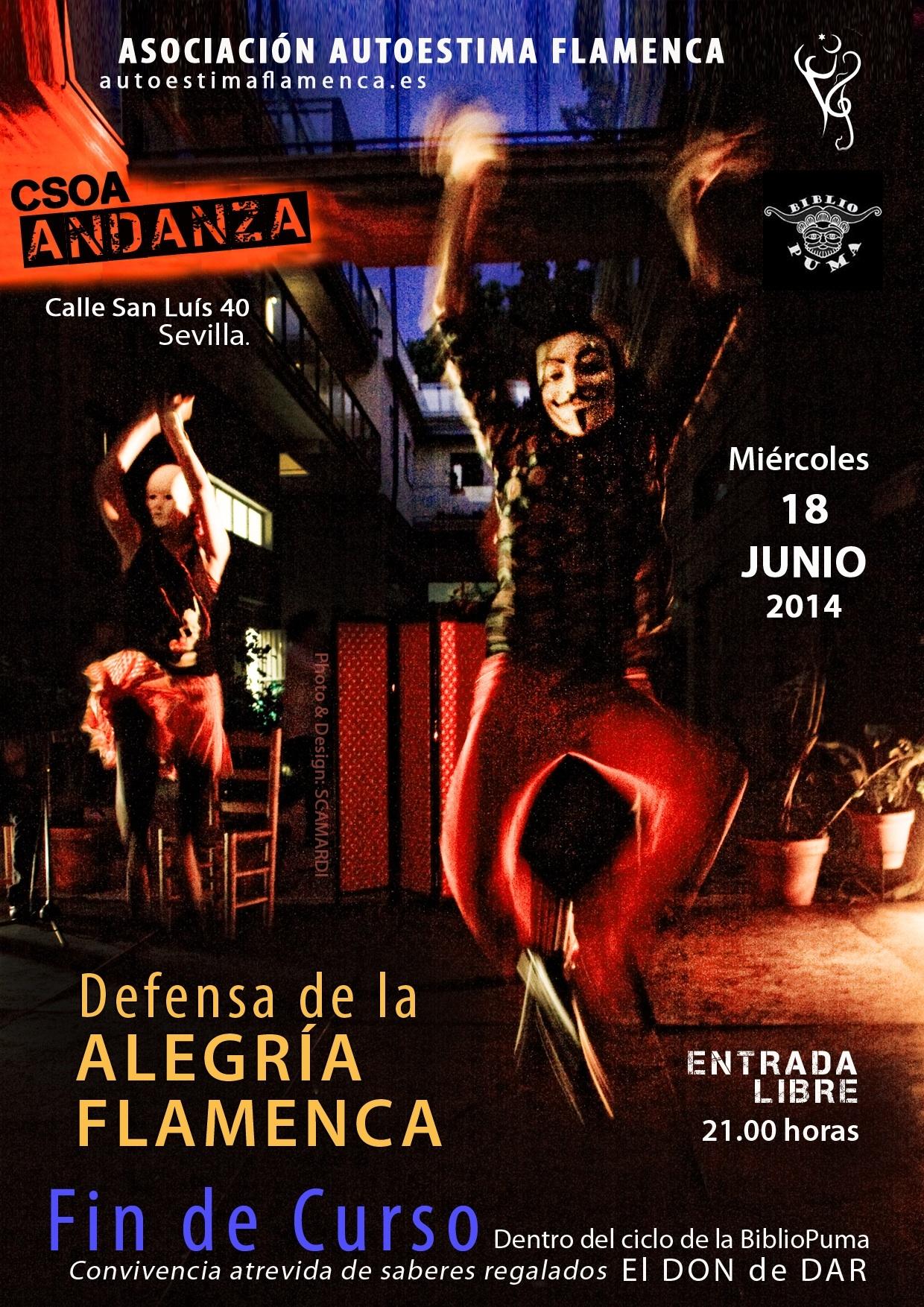 En Defensa de la Alegría. Actuación Junio 2014