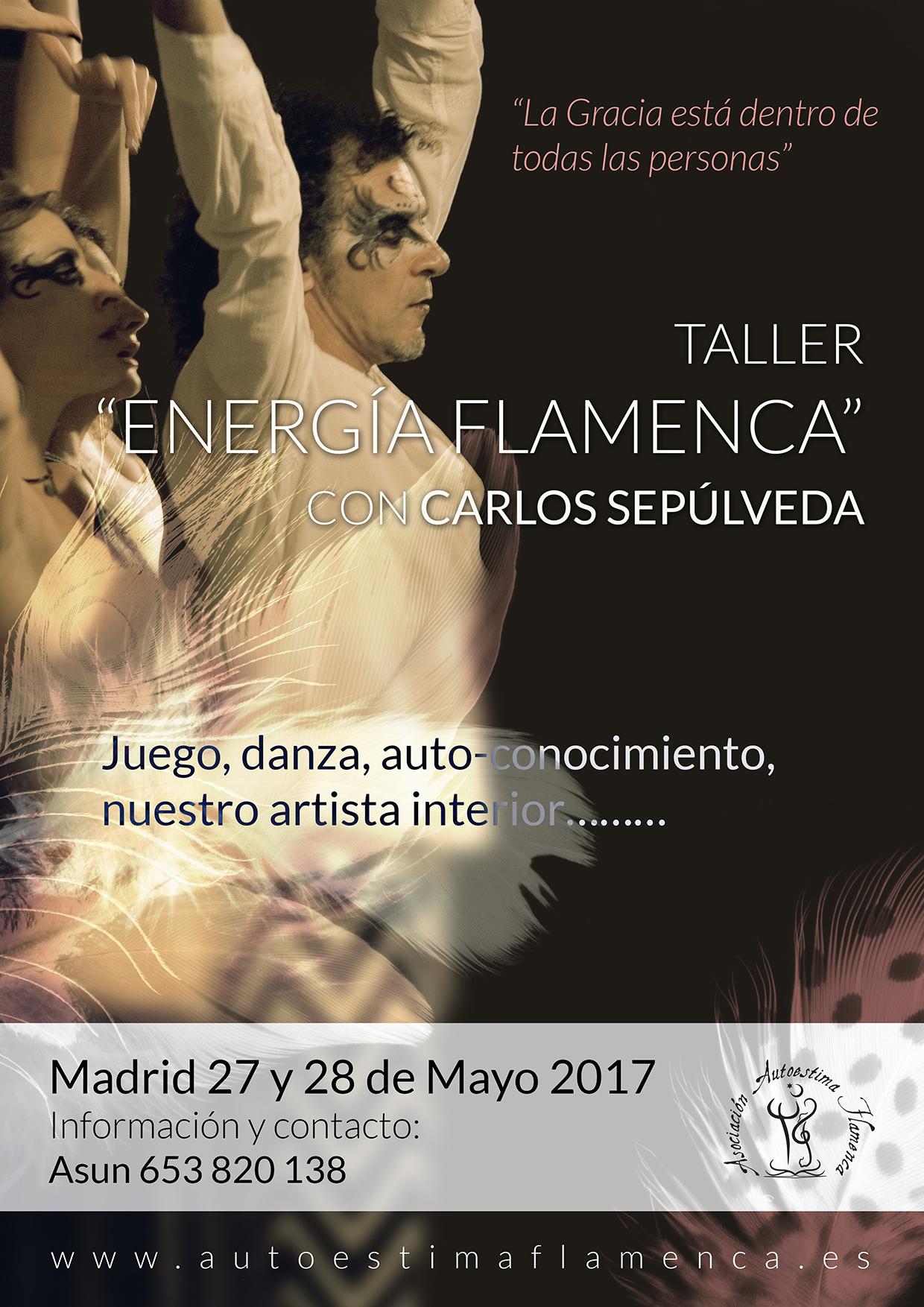 Taller Energía Flamenca. Madrid 2017