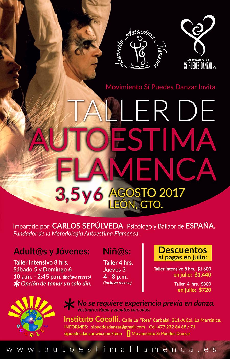 AUTOESTIMA FLAMENCA EN MÉXICO 2017