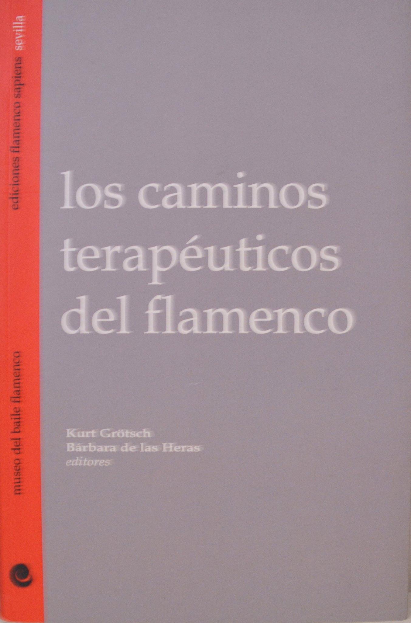 """Portada de """"Los caminos terapeuticos del flamenco"""""""